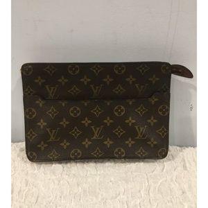 Authentic Louis Vuitton monogram clutch